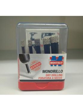 5 foretti diamantati ad umido e secco set FAJVA Montolit